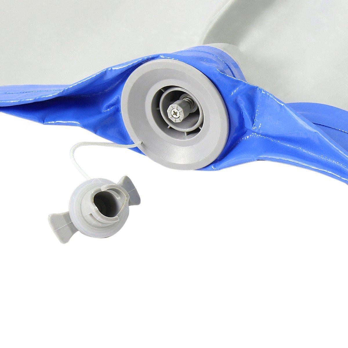Inflable gimnasia AirTrack cayendo aire Piso 5 m trampolín eléctrico de la bomba de aire para el uso en el hogar/formación/animadoras /playa - 4