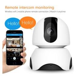 ENKLOV Home Security IP Camera Wi-Fi Wireless Mini Network Camera Surveillance Wifi 720P Night Vision CCTV Camera Baby Monitor