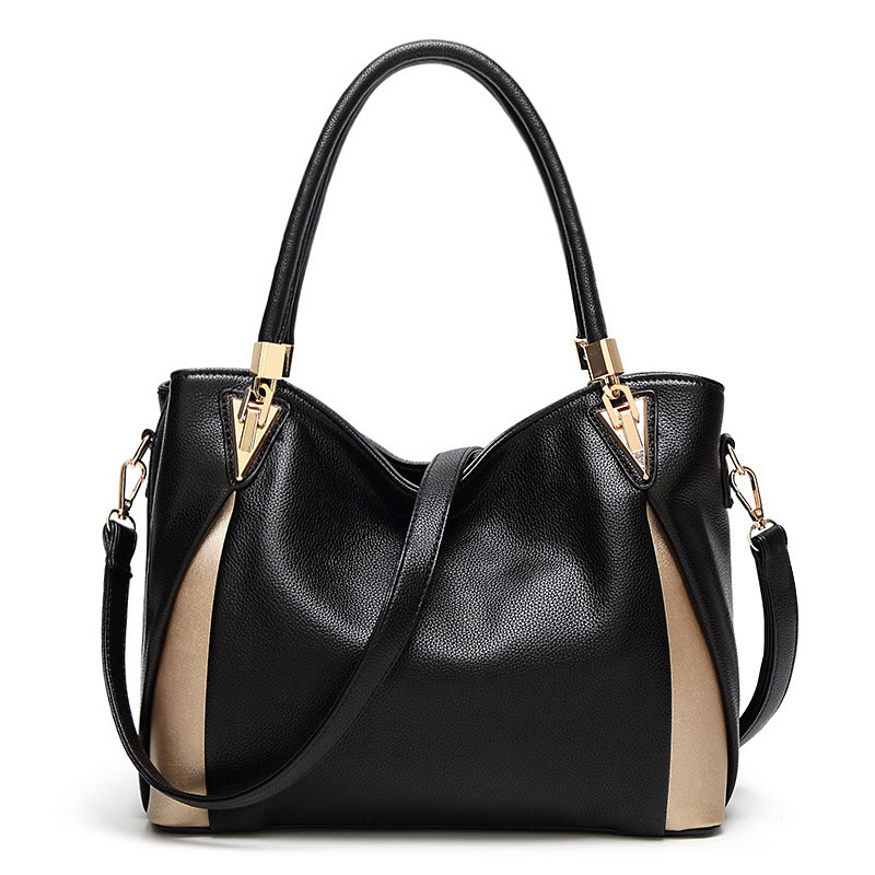 Women Luxury Handbags Women Bags Designer Shoulder Bag Casual Tote PU Leather Handbags Kabelky Soild Bag genuine leather handbags 2018 luxury handbags women bags designer women s handbags shoulder bag messenger bag cowhide tote bag