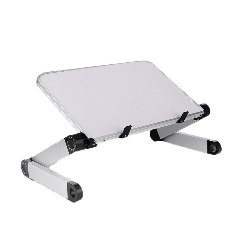 Mini support d'ordinateur portable Table ordinateur portable pliable support ergonomique bureau pour lit hauteur réglable 360 degrés Angle bureau canapé bureau