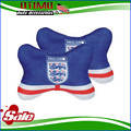 England Football Fan Car Headrest Neck Pillow Seat Support Auto Safety Gift Beckham Gerrard Lampard Rooney for BMW Honda Nissan
