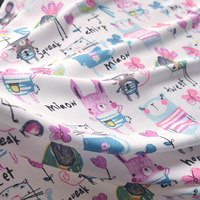 Cartoon Pattern Shuxiang Silk Cotton High Grade Summer Baby Clothing Original Shirt Dresses Skirt Sheets Of