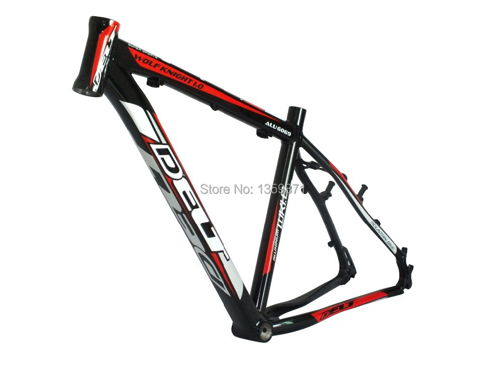 Delt Lightweight 26 17 In Ch Mountain Bike Mtb Bicycle Frame