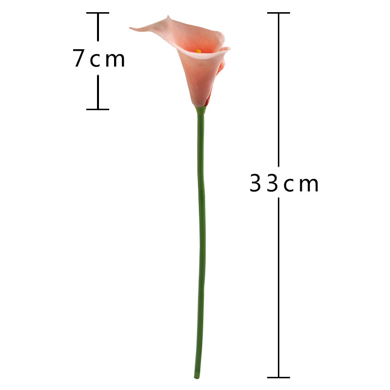 CHENCHENG 10 Pieces/Lot PU Artificial Flowers Calla Lily Bunch For Table Home Wedding Decoration 5