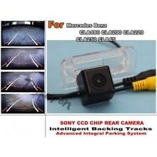 Per Mercedes Benz CLA180 CLA200 CLA220 CLA250 CLA45 Smart Tracce di Chip Macchina Fotografica HD CCD Intelligente Dinamica Videocamera vista posteriore