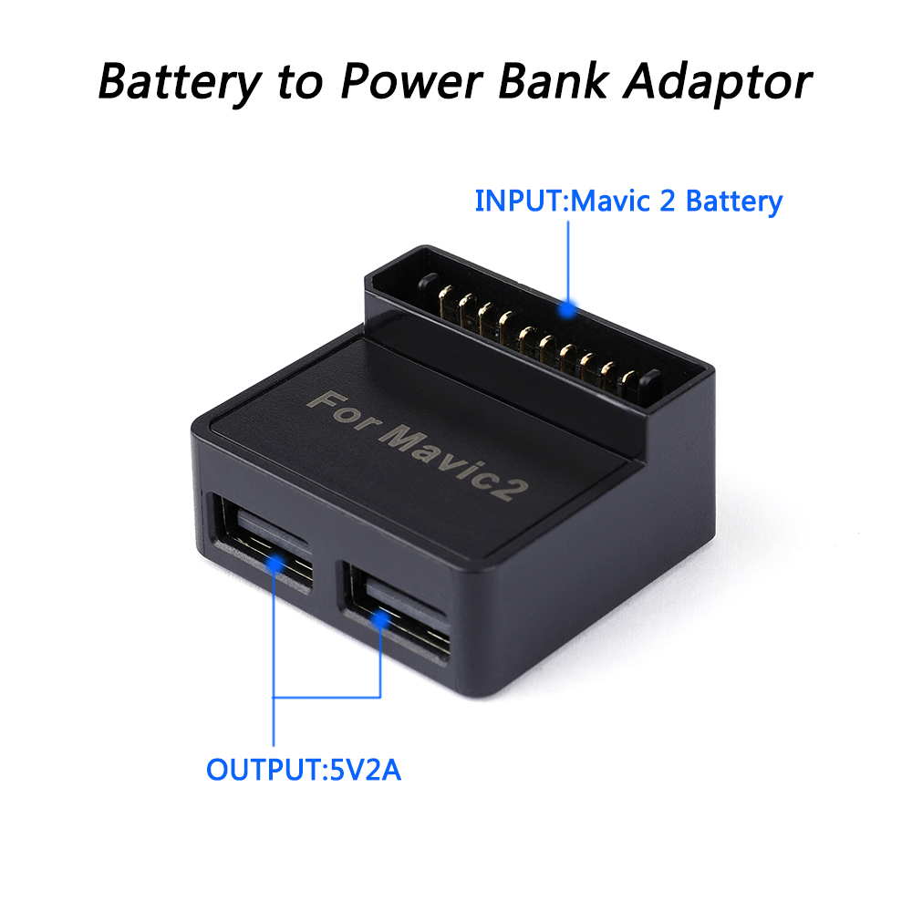 DJI Mavic 2 Spare Part Battery Converter Power Bank Accessories Adapter USB Charger Drone Charging Use Smart Phone tablet Part in Drone Accessories Kits from Consumer Electronics