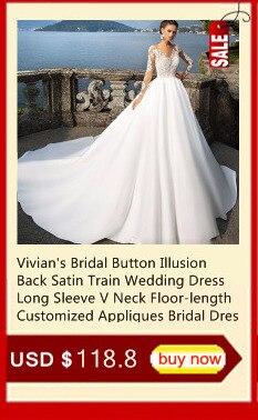 3e03be4515258 Vivian's Bridal Ins Hot Detachable Train Mermaid Wedding Dress Off ...