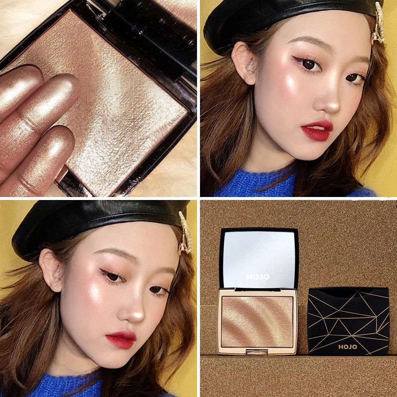 Face Makeup Highlighter Bronzers Palette Glow Kit Facial Contour Shimmer Powder Body Brighten Illuminator Highlight Cosmetics 3