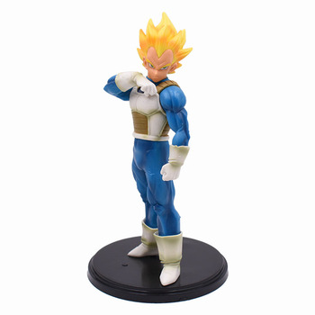 19cm Dragon Ball Z Vegeta Action Figure PVC Collection Model Toys Brinquedos For Kids Christmas Gift With Box One Piece 18cm dragon ball z android 18 lazuli action figure pvc collection figures toys for christmas gift brinquedos with retail box