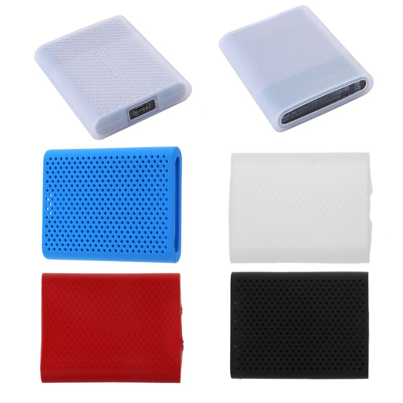 HDD Bags Cases Hard Drive Disk HDD Silicone Case Cover Protector Skin For SAMSUNG T5 SSD HDD Case