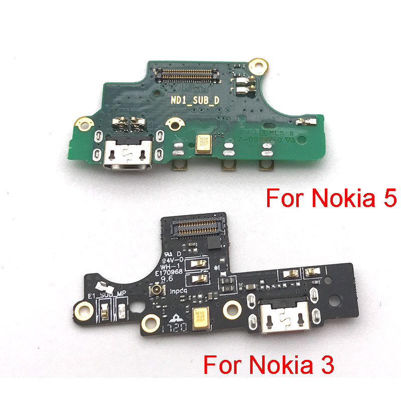 New Tested For Nokia 5 3 Charger Charging Port Dock USB Connector Data Flex Cable Replacement Spare Parts