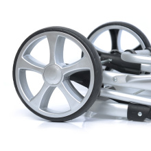 16%, 2 шт EVA колеса для покупок, багажные износостойкие Нескользящие демпфирующие колеса, металлический подшипник диаметром 20 см