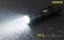 Nitecore MT20C 2015 New Portable Tactical Flashlight CREE XP-G2 R5 460 Lumens Red Light Illumination 18650 Searching Hand Light недорго, оригинальная цена