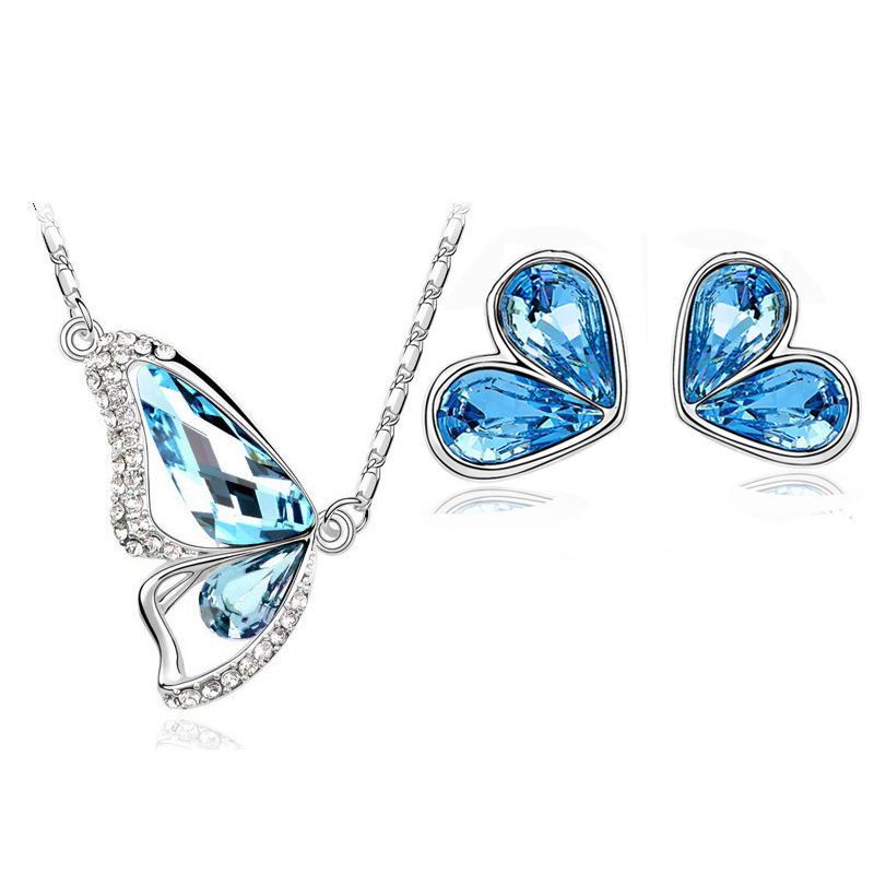 Австрийский хрусталь бабочка - Модные украшения - Фотография 5