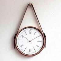 Metal Large 3d Modern Wall Watch Quartz Silent Living Room Luxury Pendulum Flip Retro Vintage Wall Clock Cuckoo Clocks 61B0012