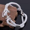 Men's Jewelry Bracelets New Fashion Jewelry 22 cm rope Bracelet Charm Anchor Bracelets For Women Men