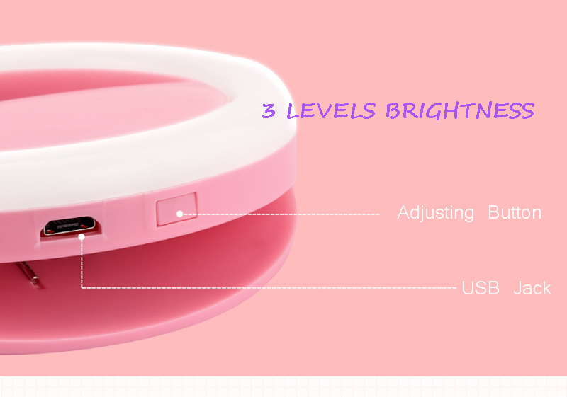 Selfie Ring Light Flash Led Fill Lamp Spotlight Portable Flash Led for xiaomi Sumsung for Meizu iPhone All Cell Mobile Phone