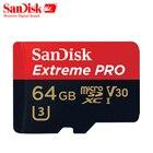 SanDisk Extreme Pro microSDHC/microSDXC New upgrade Memory Card microSD Card TF Card 100MB/s 32GB 64GB 128GB Class10 U3 A1 V30