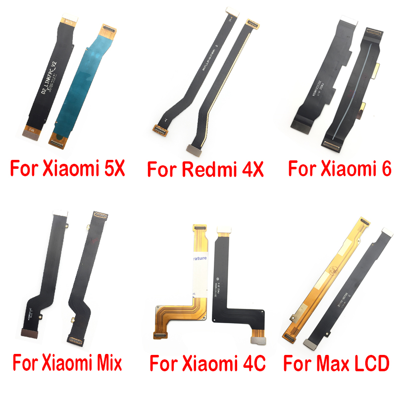 Main Flex Cable For Xiaomi Redmi 3S 4 4A  4X 5 Plus 5A 6 Pro S2 Note 2 3 7 Note5 Note4x Connect Mainboard To LCD Screen Ribbon