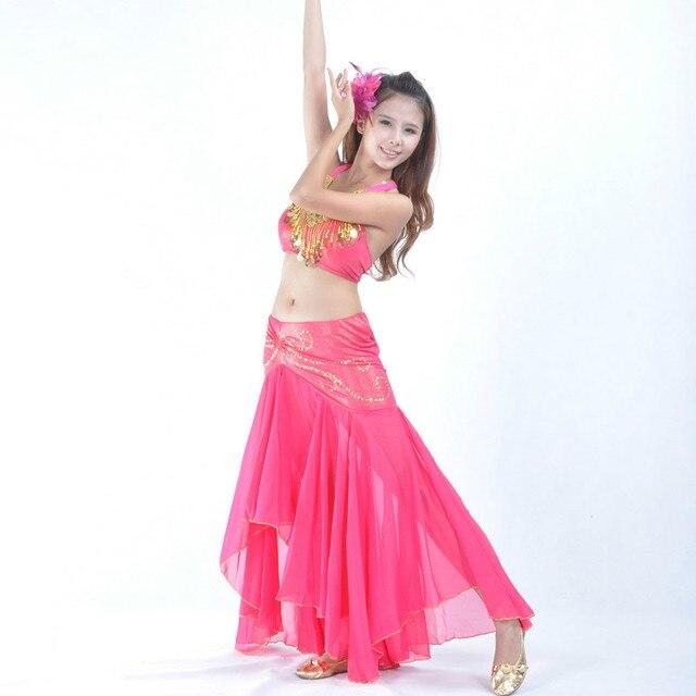 Profesional bellydance traje Sets competencia señora oriental trajes de  danza Bollywood danza vestido dancewear 89 87cbe3b6902