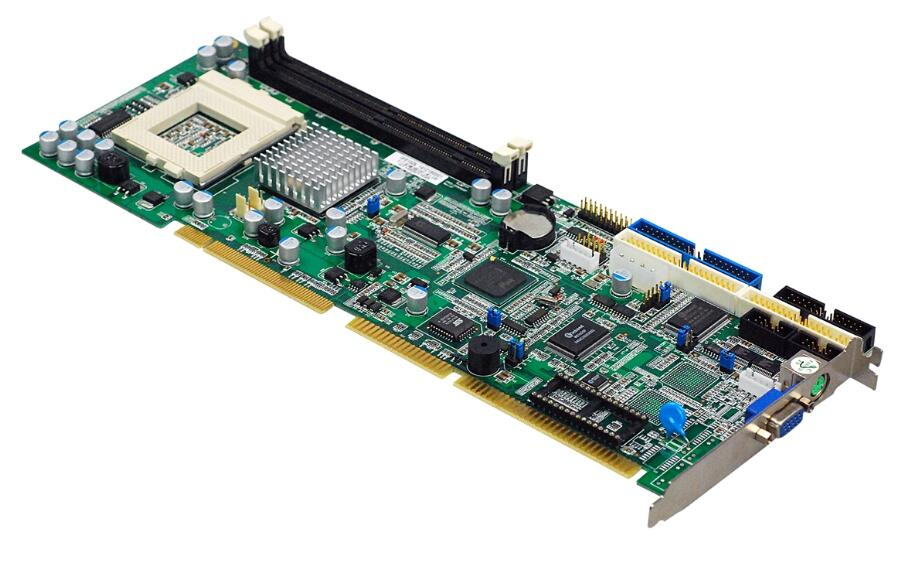 New IPC Board For Intel 815 ICH2 Full size CPU Card ISA Industrial Mainboard PICMG 1
