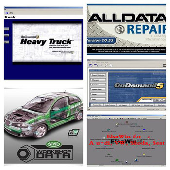 2017 alldata and mitchell software v10.53 all data+ Mitchell 2015+ Vivid workshop+ Mitchell Heavy Truck+ ELSAwin in 1TB hdd
