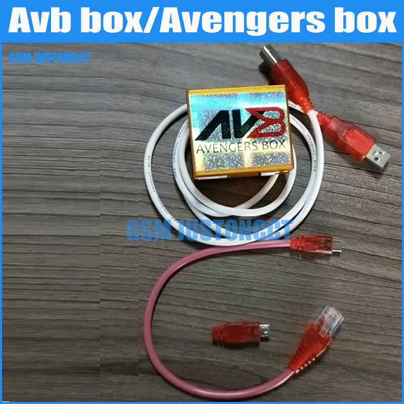 The Newest 100% Original Avengers Box AVB BOX For Alcatel Huawei Samsung ZTE Mixed Chinese For Lenovo Free Shipping