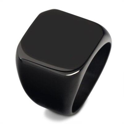 Ringary Drei farbe platz mode-ring aus edelstahl für sowohl mann und frauen Schönheit und schmuck