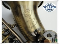 Hot Free Musical Instruments Alto STS R54 Professional Henri Selmer E Flat Bronze Saxophone