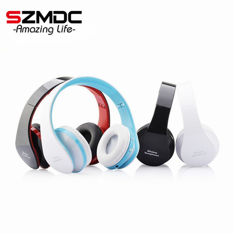 Handsfree Stereo Foldable Wireless Headphones Casque Audio Bluetooth Headset Cordless Earphone for Computer PC Head Phone Set wireless headphones sunglasses stereo music sun glasses headset handsfree earphone for outside