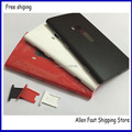 Original For Nokia lumia 920 Rear Housing Battery Door Cover with Sim Tray + Logo,White  Black Red Yellow, Free Shipping