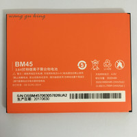 Original Battery BM45 For Xiaomi RedMi Note 2 Red Rice Hongmi Note2 Bateria Replacement Lithium Battery