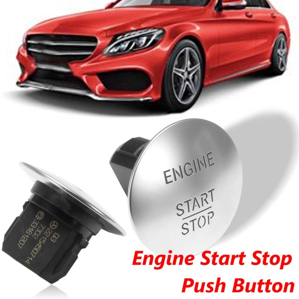 Push Start Button Ignition Switch For Mercedes Benz Keyless Go Engine Stop Auto Accessories In Starter Parts From Automobiles