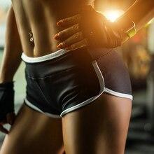 Women White Sexy Yoga Shorts