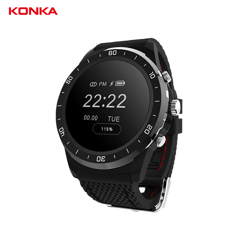 KONKA 0.96'' OLED smart wristband Heart rate/blood Oxygen pedometer watch fitness tracker smart Bracelet sport activity band