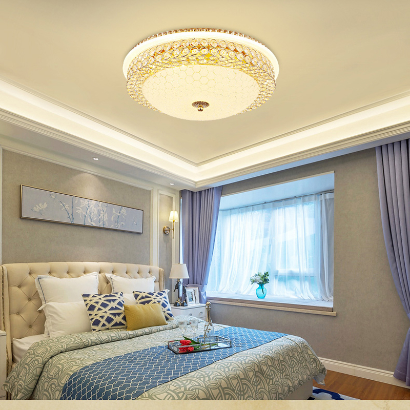 Здесь продается  Remote led ceiling lights Modern for bedroom dimmer ceiling lamps 24W 85-265V LED Ceiling Lights Fixture Indoor Lighting  Свет и освещение
