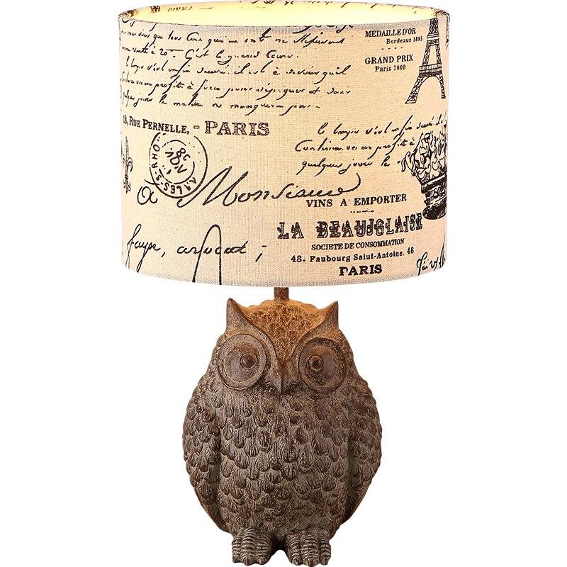 gufo bianco lampada-acquista a poco prezzo gufo bianco lampada ... - Comodino Con Gufi