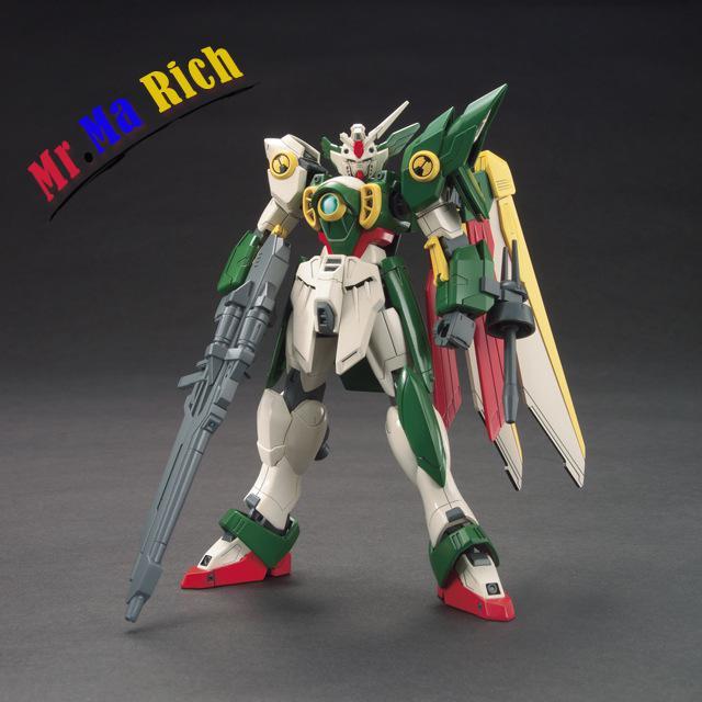 Figurine d'anime Hg 1:144 Gundam aile Gundam assemblé jouet figurines en Pvc jouet modèle de collection Robot
