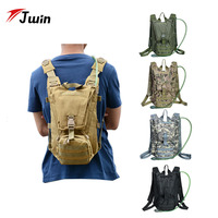 14L Tactical Hydration Backpack Outdoor Water Bag Molle Military Camping Camelback Nylon Camel Water Bag for Cycling Hunting