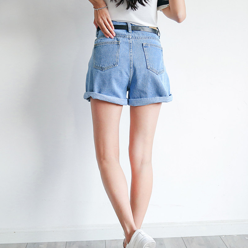 50d087583 Sedlkova Hot Shorts Jeans/2017 Mulher Verão Ondulação Calça Jeans Boyfriend  Jeans Calças/Meninas Largas Do Vintage Fino Cintura Alta Shorts Jeans em  Calças ...