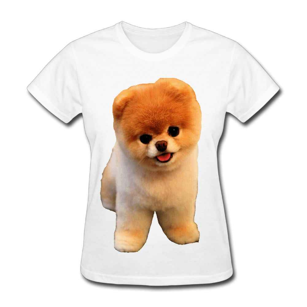 884912b7 ... SAMCUSTOM Cute Pomeranian T-shirts for Women Harajuku Funny Product Tops  Lady Casual Short Sleeve