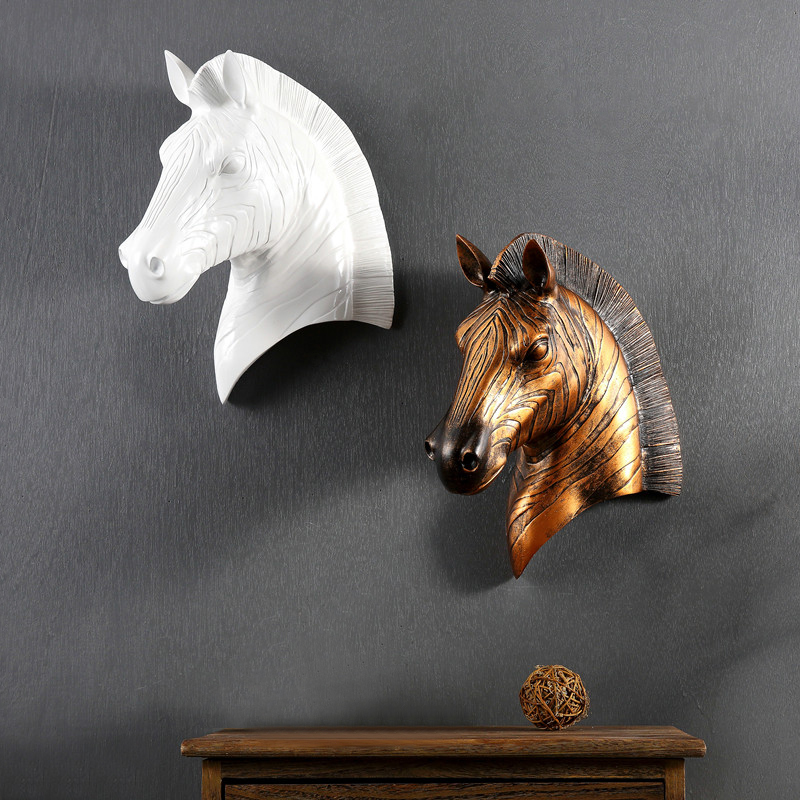 Animal Head Wall Decor popular resin animal heads wall-buy cheap resin animal heads wall