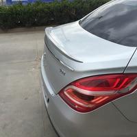 For Peugeot 308 Spoiler High Quality ABS Material Car Rear Wing Primer Color Rear Spoiler For Peugeot 308 Spoiler 2012 2014