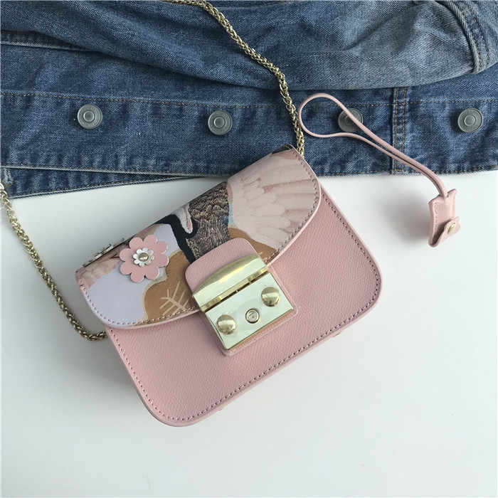 Kafunila 2018 fashion women genuine leather messenger bag mini flap crossbody bags ladies small clutches female chain bag girls