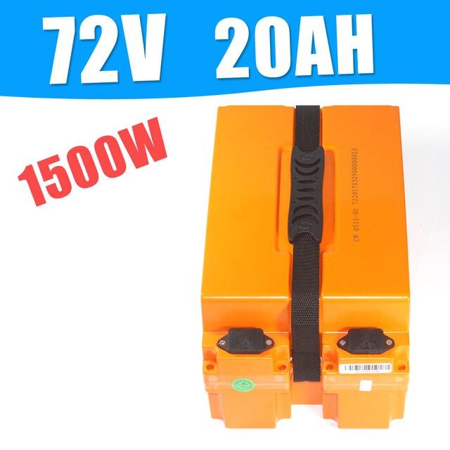 72 v 20AH batería de iones de litio 72 v 20Ah scooter