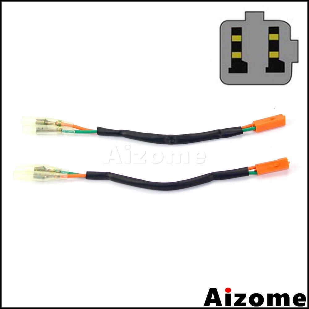 2x Rear Turn Signal Wiring Adapter Plug Harness Connectors For Honda  CBR250R CBR600F4 F4i CBR900RR CBR954RR VT750 Shadow 750-in Covers &  Ornamental ...