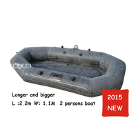2 person inflatable Boat Fishing Pvc Boats rwing boat drifting boat for drifting