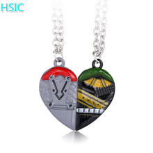 HSIC Valentine's Day Gifts Thor Odinson Thor Loki Infinity Heart Pendant Necklace Lovers' Couple Gift Jewelry for Her 11019