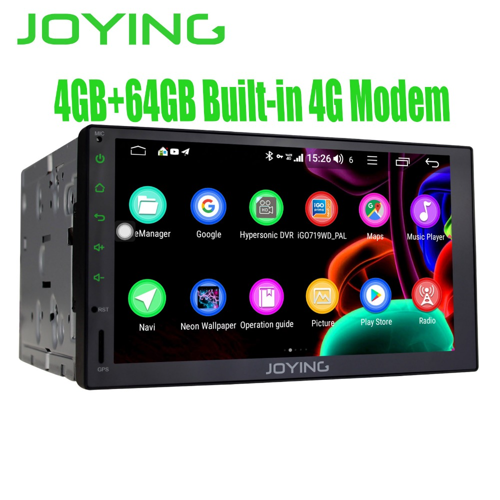 7 Full Touch Screen Tape Recorder Android Car Radio Stereo GPS Navigation Head Unit Built in