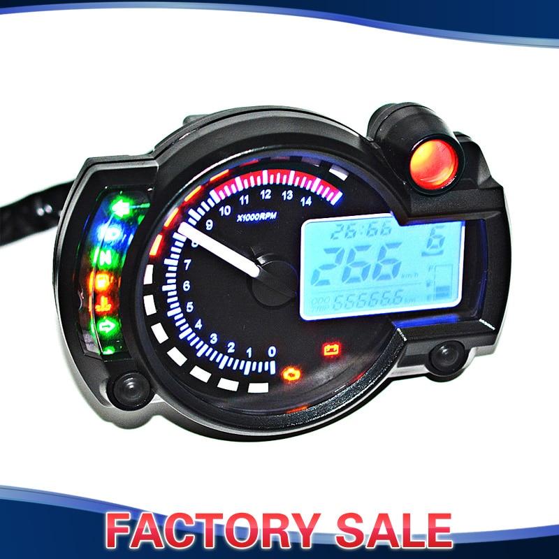 Buy Blue Lcd Digital Backlight Motorcycle Speedometer